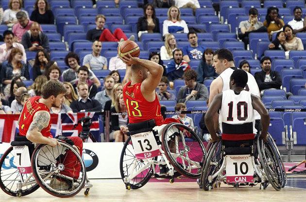 Juegos paral mpicos los juegos ol mpicos - Baloncesto silla de ruedas ...